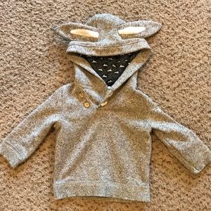 Bunny ear sweater